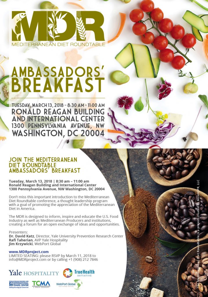 Join the Mediterranean Diet Roundtable Ambassadors