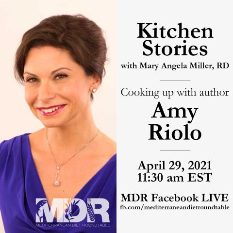 Amy Riolo is known for sharing food culture and healthy nutrition especially through Mediterranean cuisine.