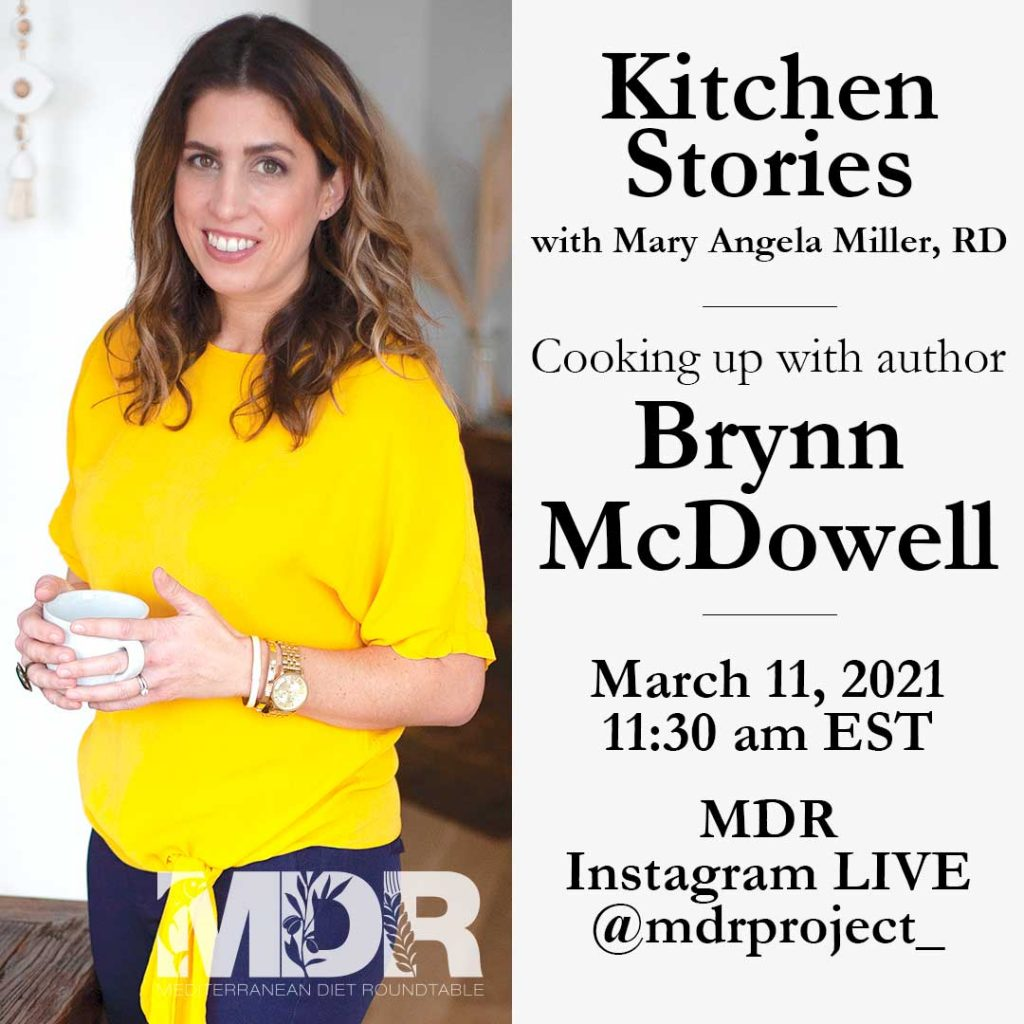 A Registered Dietitian,Brynn McDowell provides Mediterranean Diet recipes, tips and travel ideas. Find out more about this creative author, recipe developer, food photographer at www.thedomesticdietitian.com. She consider herself a realistic Mediterranean Diet Registered Dietitian, aiming to eat healthy but also share, enjoy, love and celebrate.