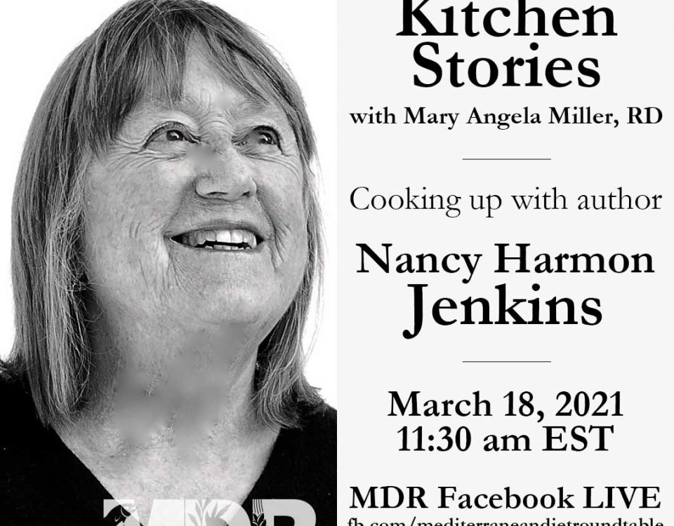 Nancy Harmon Jenkins is an authority on Mediterranean cuisines, on the Mediterranean diet and its consequences for good health.