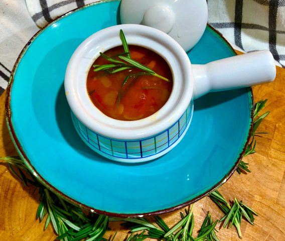 Many cultures have their version of lentil soup - what I love the most about mine is the simplicity of the soup.