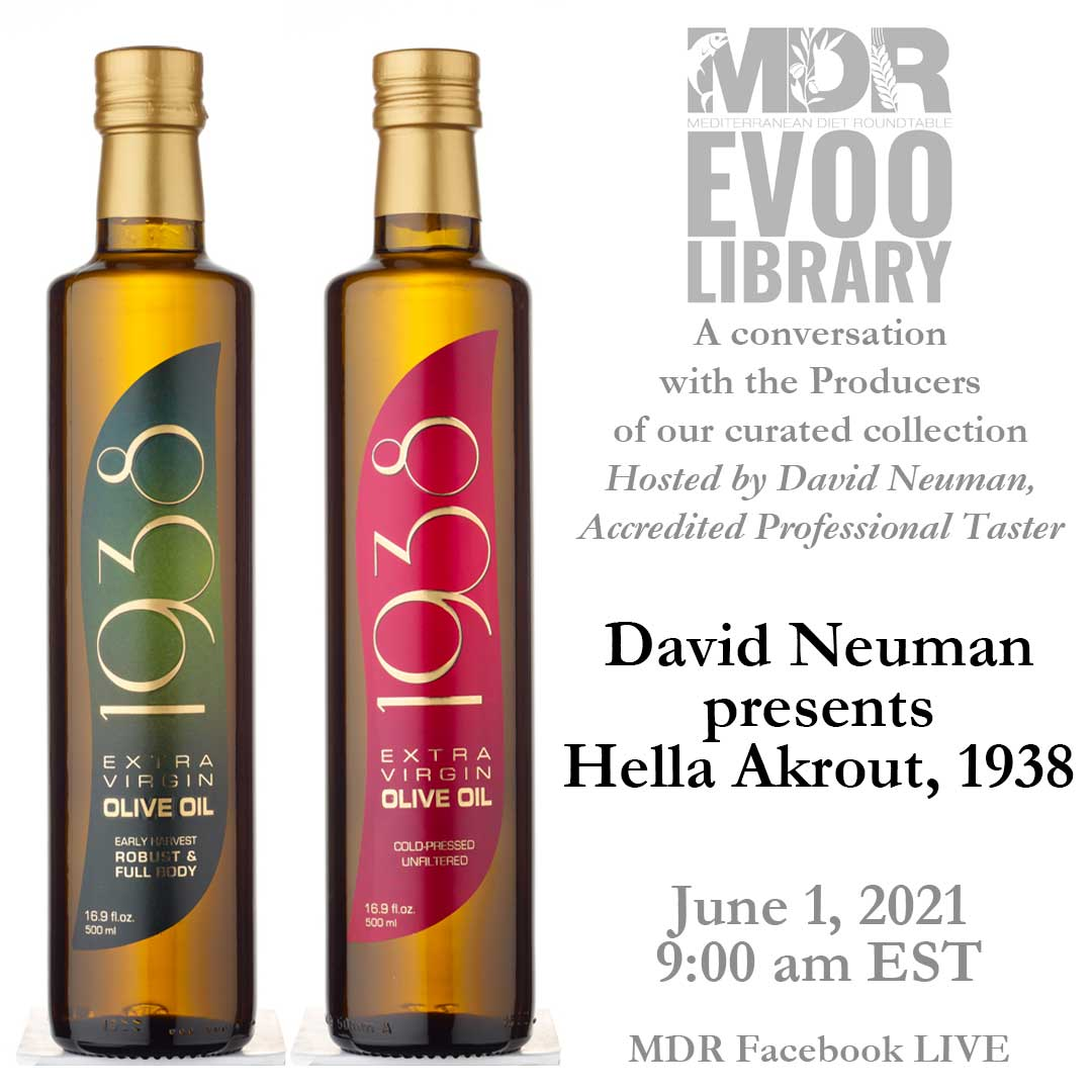 MDR EVOO Library: David Neuman presents Hella Akrout, 1938. June 1, 2021 - 9:00 am.